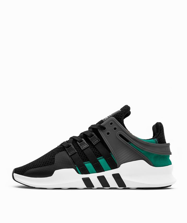 adidas originals eqt support adv og black sub green p