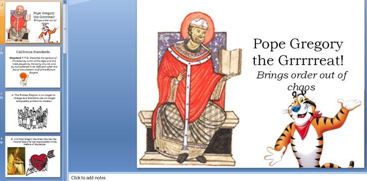 Pope Gregory the Grrrrrrreat