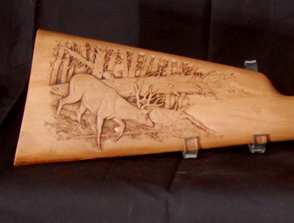 Best images about gun stock carving on pinterest deer