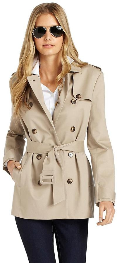 Brooks Brothers Petite Trench Coat- Seattle here I come!