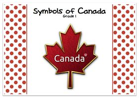 GradeONEderful.com Canadian Symbols mini unit