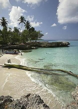 Dominican republic, Santo Domingo, La Caleta, Boca Chica - Parque Nacional Submarino La Caleta (one of the best dive sites)