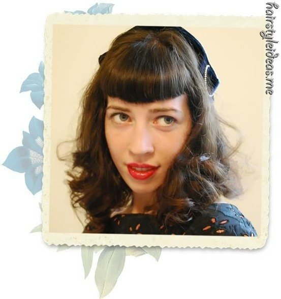 classic #hairstyles: Classic Hairidea, Hairstyles Inspiration, Classic Originals, Betty Pages, Retro Hairstyles, Classic Courtesi, Classic Hairstyles, Vintage Bangs, Betty Bangs