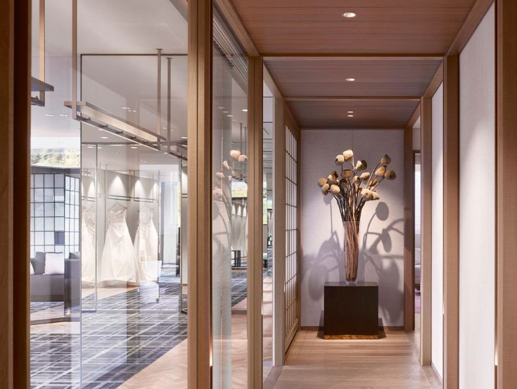 Wedding consultation area at the four seasons kyoto by hba for Interior design lighting specialist