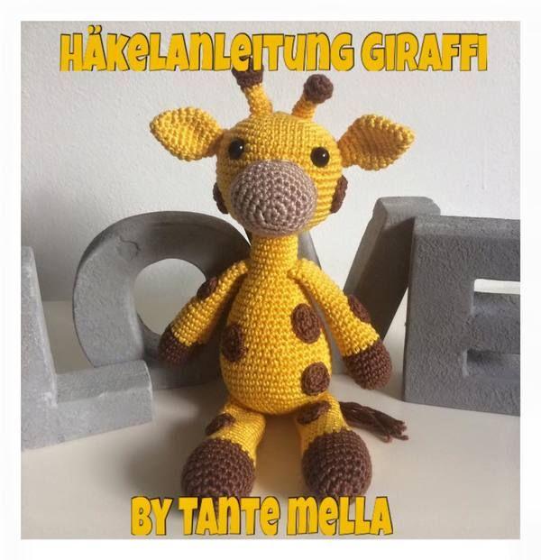 Giraffe ,Häkeln, Anleitung,Kostenlos, Häkeln, | H Ä K E L N ...