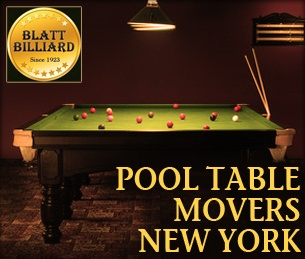 Pool Table Movers New York