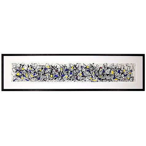 Buy Jackson Pollock- Summertime, 39 x 150cm Online at johnlewis.com