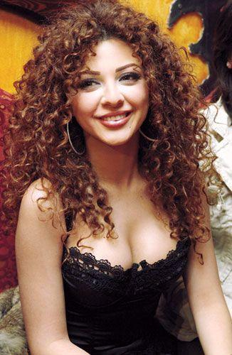 Myriam Fares - curly hair goddess - CurlTalk