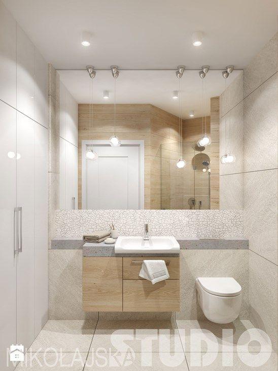 jasna łazienka - zdjęcie od MIKOŁAJSKAstudio