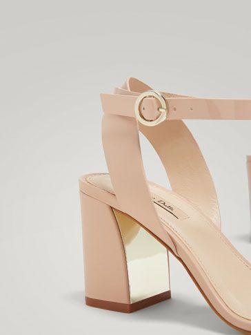 0580f9a1d50 Los zapatos de mujer más sofisticados en Massimo Dutti. Descubra el avance  de primavera 2018: botines de piel, zapatos de vestir, mules y sandalias de  tacón