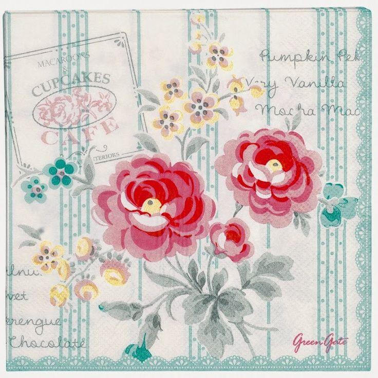Antique Passion-Láminas Antiguas,Vintage,Retro...y manualidades varias: Green Gate