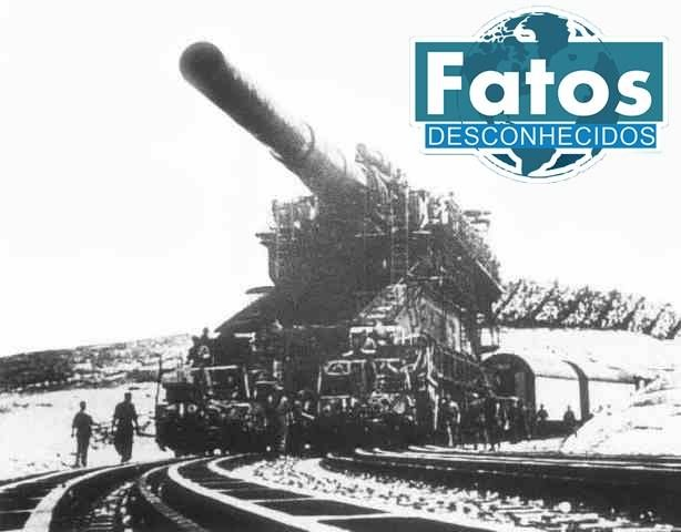 O canhão Schwerer Gustav foi o maior já construído pelo homem, pesava 1344 toneladas, tinha 6 metros de altura e 43 metros de comprimento. Tinha um diâmetro interno de 800 mm e usava 1360 kg de pólvora sem fumaça para atirar seus dois tipos de projeteis principais: um projétil de 5 toneladas altamente explosivo (HE) e um de 7 toneladas capaz de perfurar concreto.