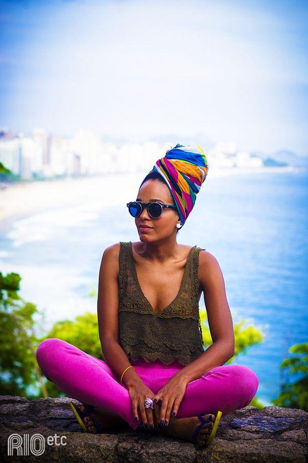 Gabi, carioca do Chapéu Mangueira - Rio de Janeiro, Brasil
