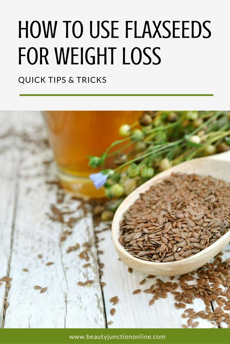 flax seed benefits weight loss