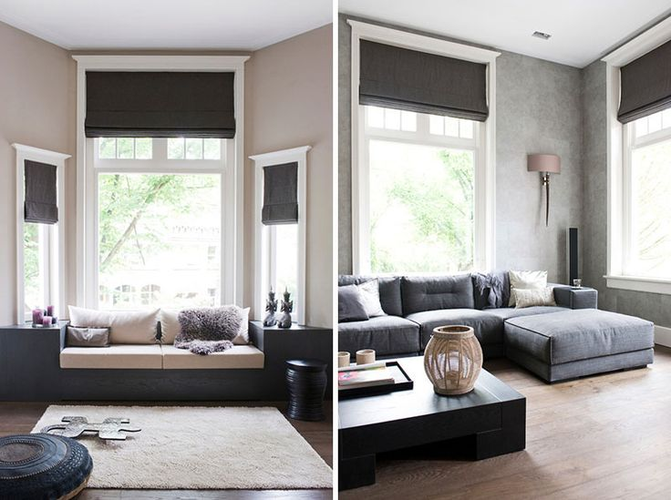 Best 25 types of blinds ideas on pinterest roman shades - Modern window treatments for living room ...