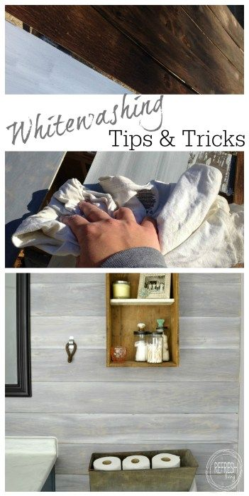 Creating a weathered, rustic finish is easy with these steps to whitewash wood