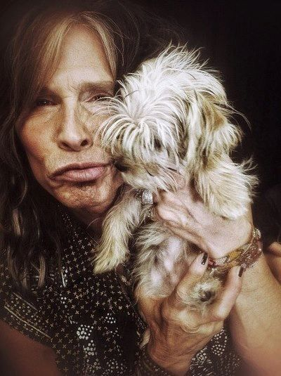 Steven Tyler 2013 this pic is so cute