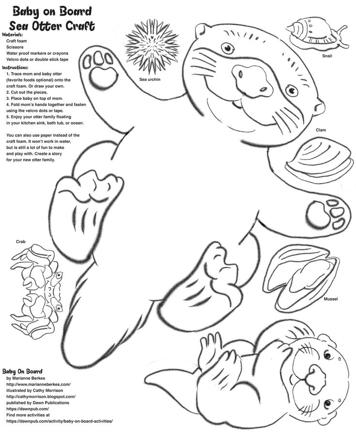 otters coloring pages gallery  otters harry potter