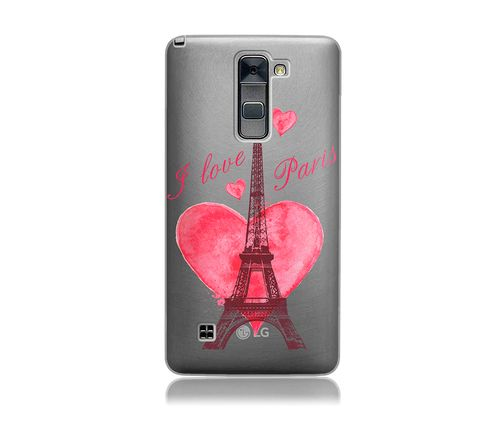 wholesale dealer efe07 bbe91 LG Stylo 2 / LG LS775 Clear Tpu with Color Macaroons Design Soft and ...