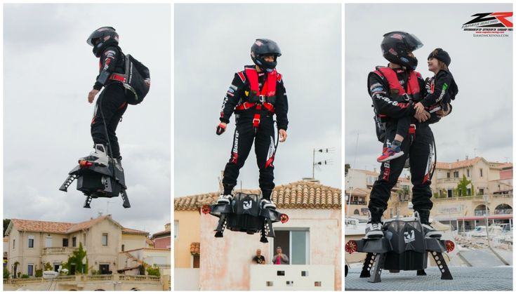 Confirmed: Franky Zapata sets new Farthest hoverboard flight record in France | Guinness World Records