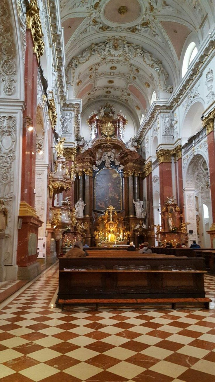 The Church of St. Ignatius - Prague