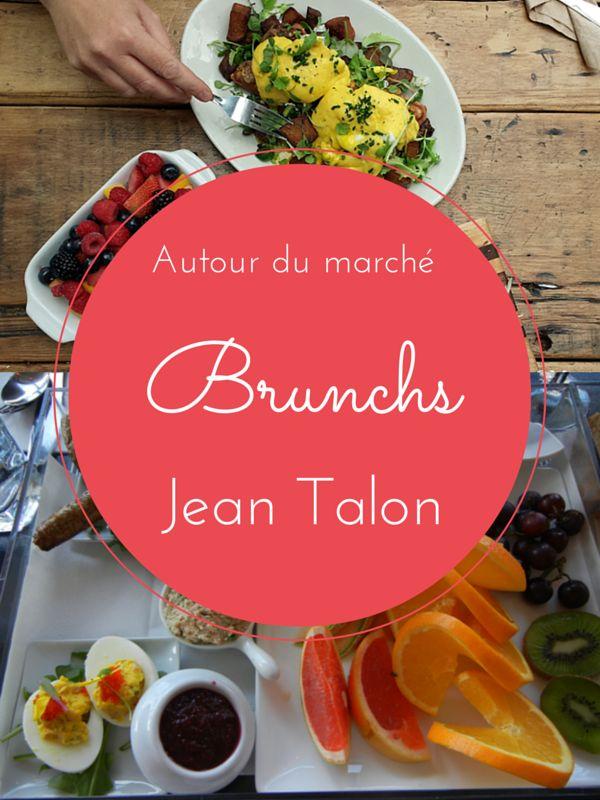 Brunchs autour du marché Jean Talon Meilleurs brunchs Montreal