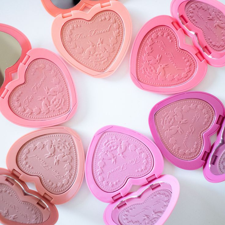 Too Faced blushes