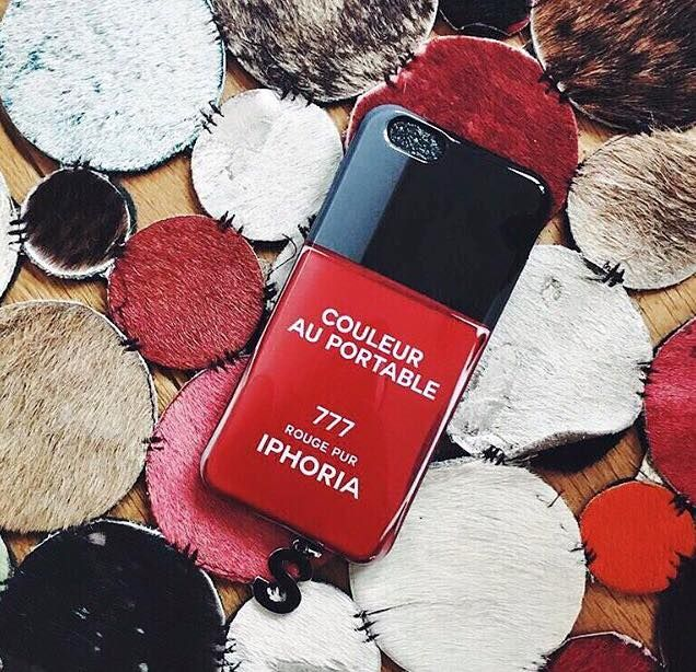 Pop of Red with our Iphoria Rouge Vernis Sensation #iphone6 case!  #stylebubbles #fashion #accessories #onlineshopping