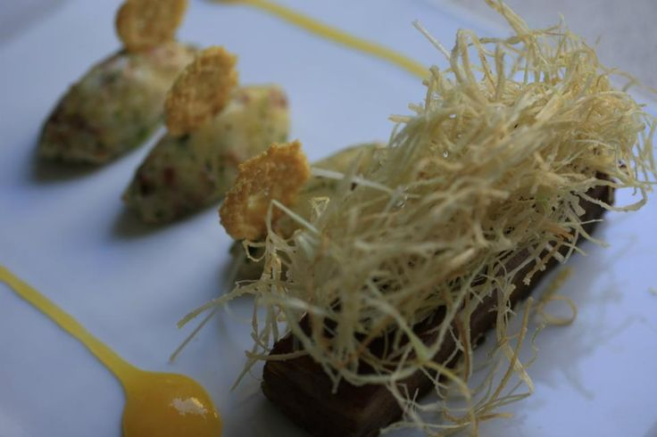 This is not only a Gourmet.. This is an innovation. Taste it in 1800 Restaurant in #Oia.