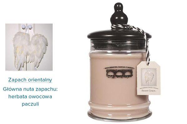 Świece zapachowe na bazie oleju sojowego. Oryginale naturalne kompozycje zapachowe. Po wypaleniu pozostaje słoiczek z pokrywką.
