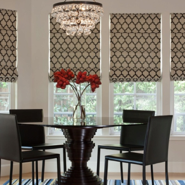 17 Best Images About Beautiful Roman Blinds On Pinterest