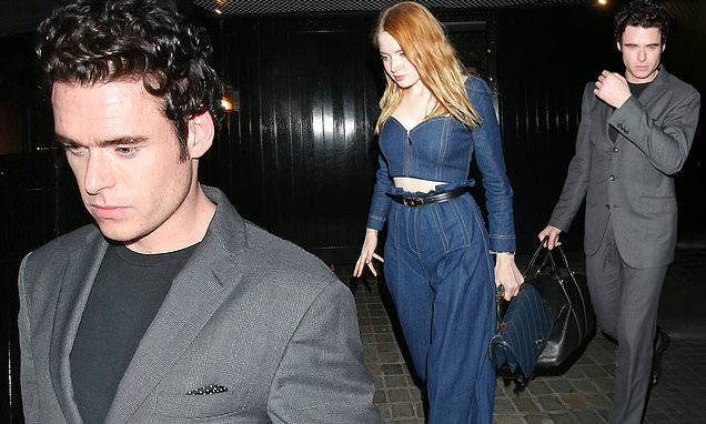 Richard Madden Enjoys Night Out With Girlfriend Ellie Bamber