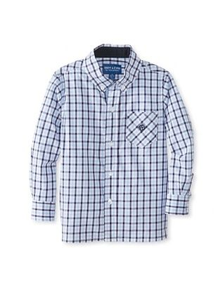 63% OFF Andy & Evan Boy's 2-7 Lord Of The Gings Big Boy Button-Up (Blue)