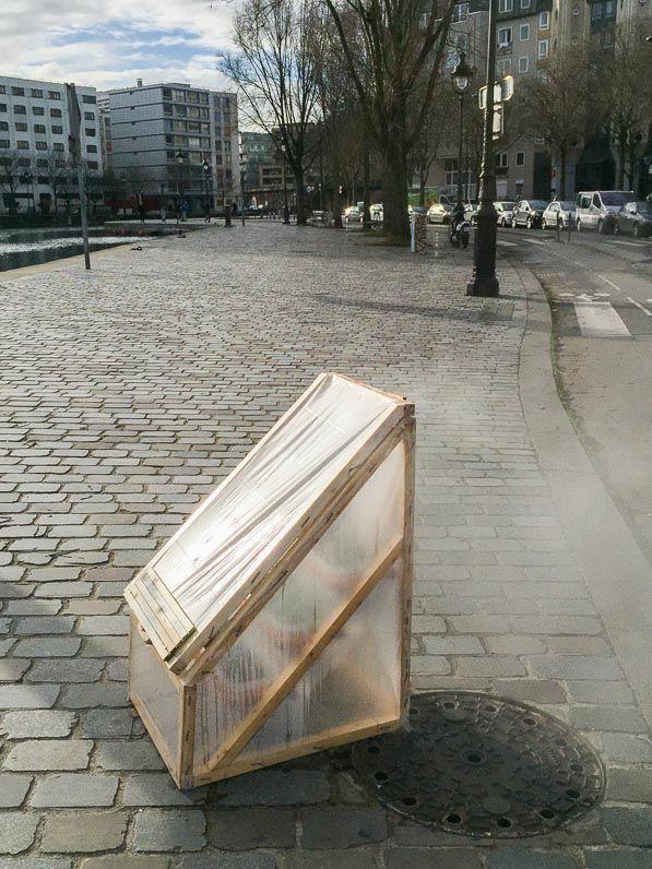 #Jardinage urbain : semis sous mini #serre chaude http://www.pariscotejardin.fr/2017/01/jardinage-urbain-semis-sous-mini-serre-chaude/