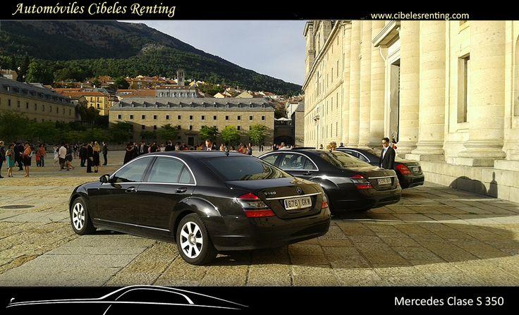#Mercedes clase S para #alquiler en #Madrid