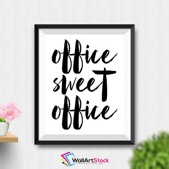 Cute Office Wall Decor : Best printable wall art daily update images on