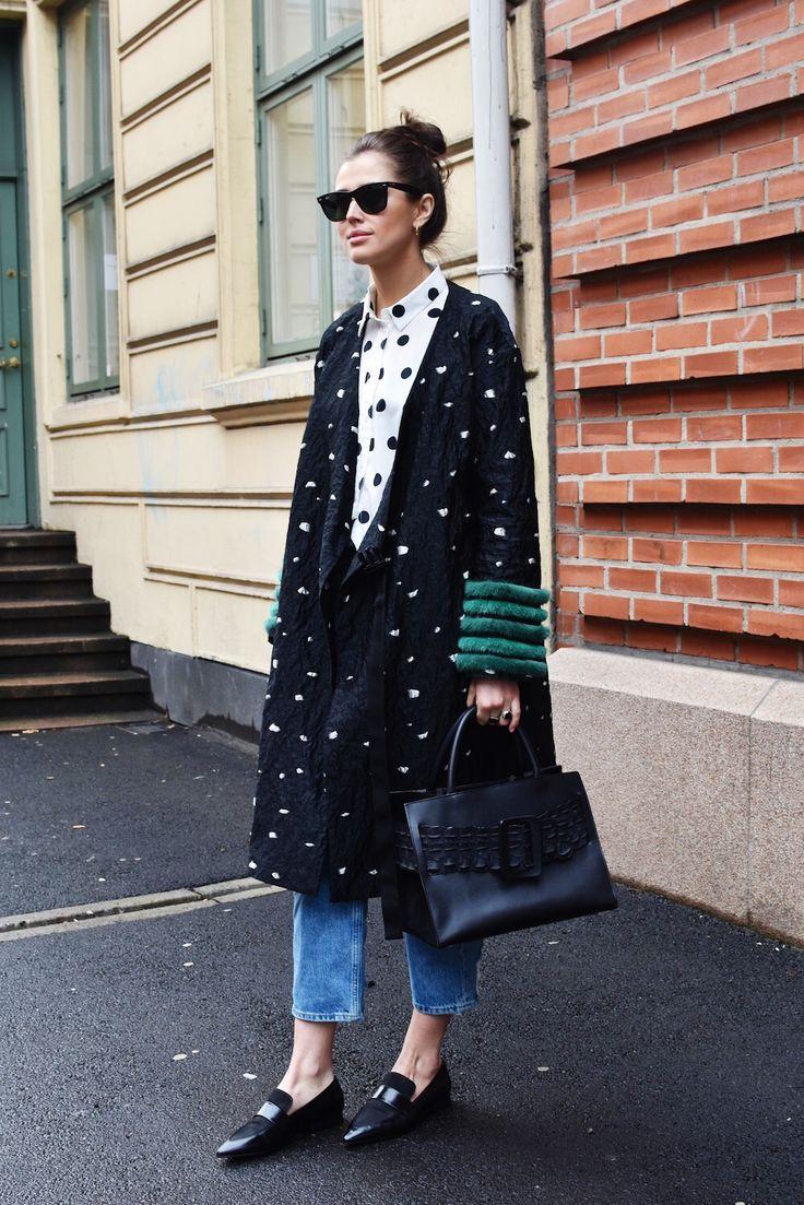 Polkadots street style fashion Women's Jeans - amzn.to/2i8XN7s Clothing, Shoes & Jewelry - Women - women's jeans - http://amzn.to/2jzIjoE