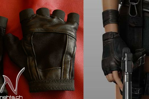 HOW TO MAKE THE TOMB RAIDER UNDERWORLD GLOVES- laracroftcosplay.com Cosplay pics, help and more!
