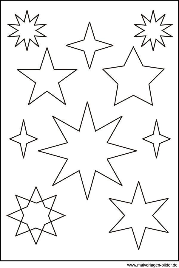 Ten Besser Malvorlage Sternschnuppe Gedanke 2020 In 2020 Basteln Weihnachten Weihnachten Basteln Vorlagen Sternenvorlage
