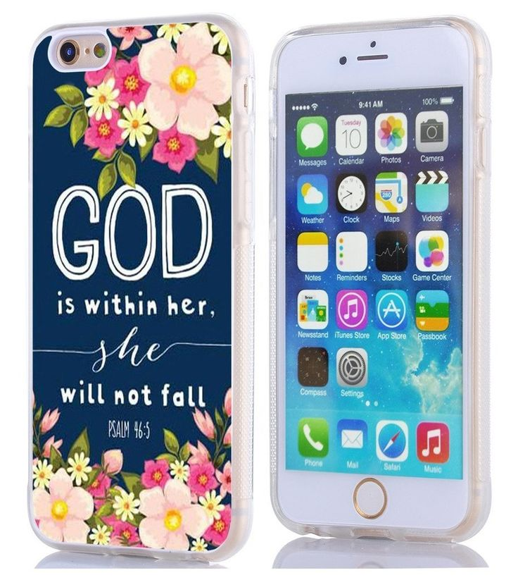 Iphone 6 Case, Apple Iphone 6S Case God Is Within Her She Will Not Fall Psalm 46  | eBay