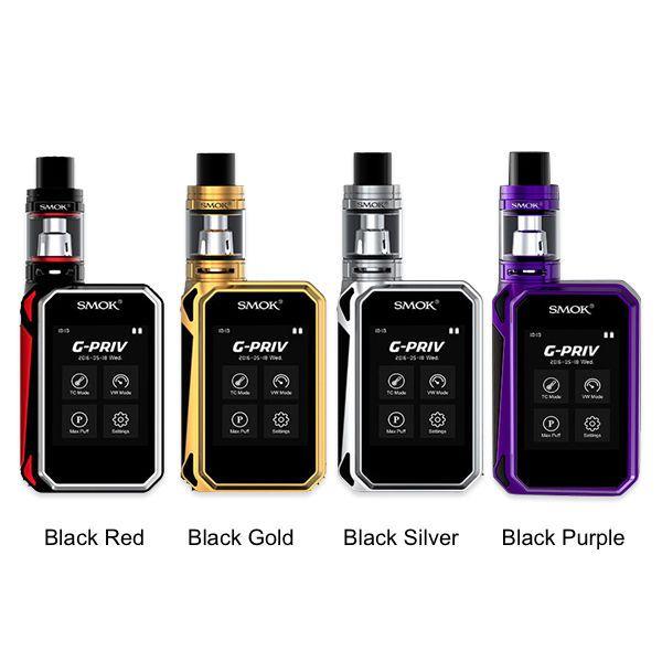 SMOK G-PRIV 220 With TFV8 Big Baby Starter Kit W/O Battery Authentic #STARTERKIT