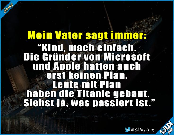 Wo er recht hat :) #Motivation