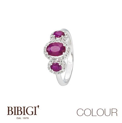#Colour Bibigì Collection, #Anelli #Colour Bibigì Collection, #Rings Scegli la pietra che dà valore alle tue emozioni. Indossa la collezione Colour di Bibigì, oro bianco, diamanti e pietre preziose, gioielli che si adattano a qualsiasi stile e a tutti gli stati d'animo.