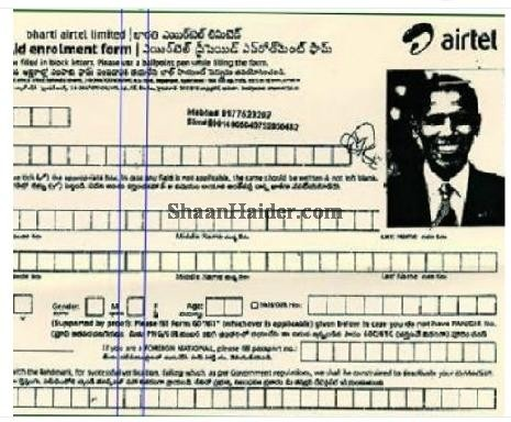 Man uses Barack Obama's picture to get mobile phone number in India