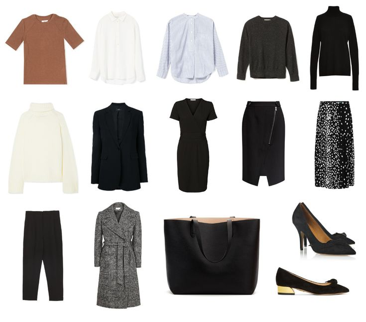 The 15 Item Work Wardrobe – Herbst / Winter Edition | Mademoiselle | Ein Minimalist …   – Adult Wardrobe