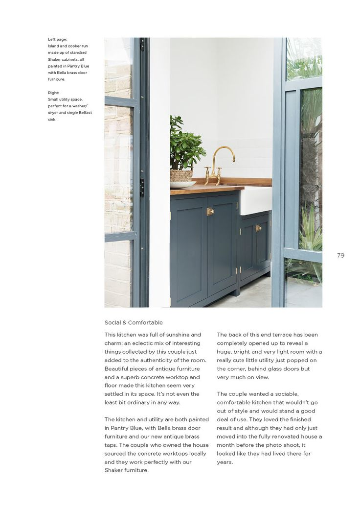 Shaker Kitchen Brochure deVOL Kitchens Kitchen Ideas