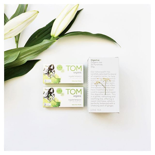GIFT WITH PURCHASE • All #TOMonline orders in October will receive delicious herbal tea samples from the wonderful team at @loveteaofficial • Founder & naturopath Emma Watson created her organic and fair-trade tea range four years ago and can't wait for you to try them out.  While stocks last.  #organic #loveteaofficial