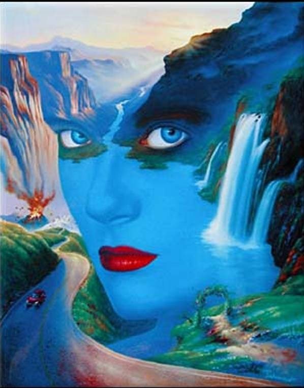 Mother Nature Ii Fantasy Art By Jim Warren Art