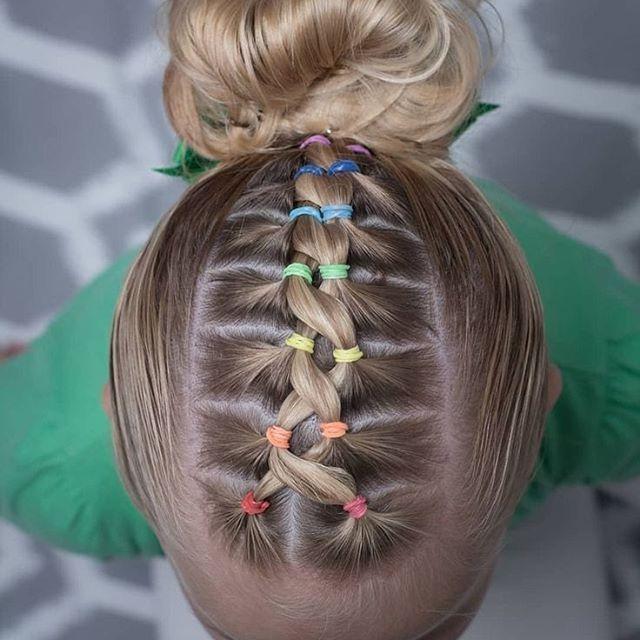 70 Niedliche Flechtfrisuren Kinder Hair Styles Kids Braided Hairstyles Girls Hairdos
