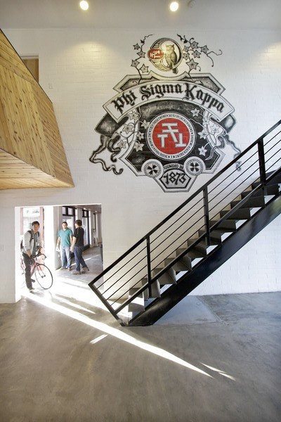 USC's Phi Sigma Kappa frat house gets a designer remodel from Ana Henton and Mass Architecture and Design.